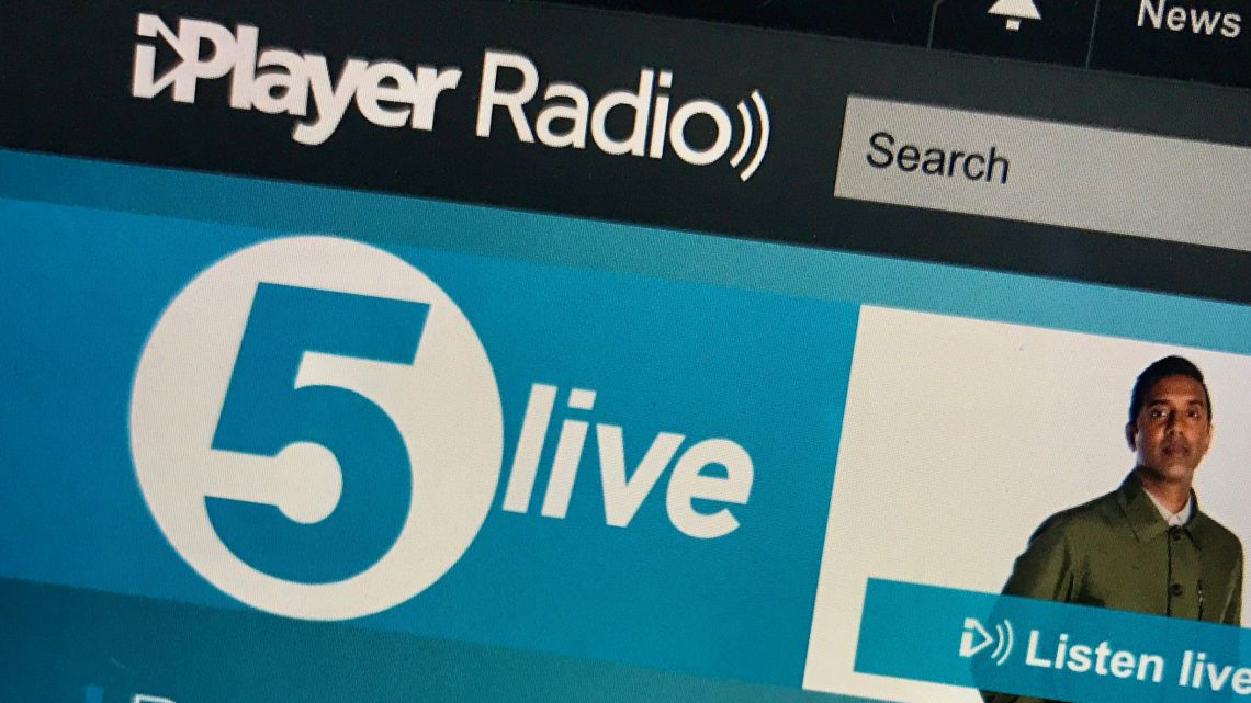 An Appearance on BBC Radio Five Live!